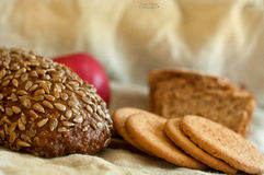 Breads and cookies Royalty Free Stock Image