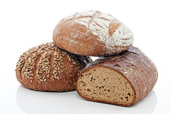 3 Breads stock images