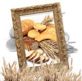 Breads and loafs Stock Photos