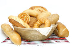 Breads and loafs Royalty Free Stock Images