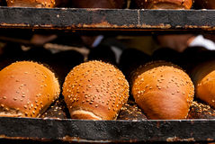 Breads at Mechane Yehuda market, Jerusalem, Israel Stock Images