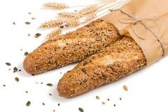 Whole Grain Bread. close up. Royalty Free Stock Photos