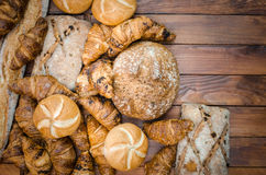 Breads products Stock Image