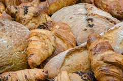 Breads products Royalty Free Stock Images