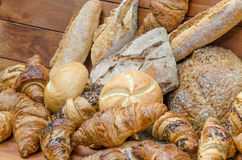 Breads products Stock Photography