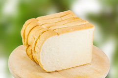 Breads sliced Royalty Free Stock Image