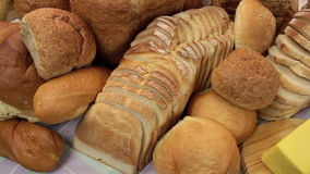 Breads stock footage