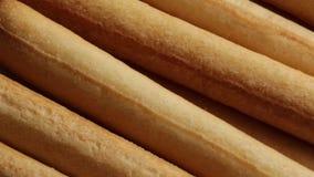 Breadsticks από το Τορίνο απόθεμα βίντεο