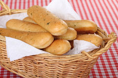 Breadsticks Stock Photography