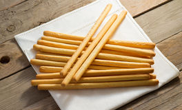 Breadsticks Photos libres de droits