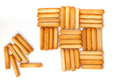 Breadsticks Royalty Free Stock Photos