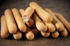 Breadsticks imagen de archivo libre de regalías