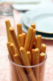 Breadsticks appetizer Stock Photography
