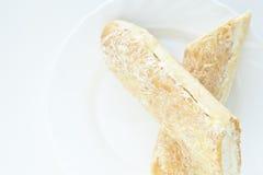 Breadsticks del queso Foto de archivo libre de regalías