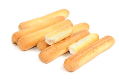 Breadsticks (Grissini) Royalty Free Stock Image