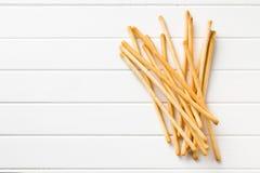 Breadsticks grissini Stock Photography