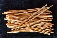 Breadsticks grissini torinesi Stock Photos