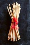 Breadsticks grissini torinesi Stock Images