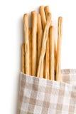 Breadsticks grissini Royalty Free Stock Photo
