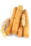 Breadsticks met oren stock fotografie