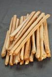 Breadsticks o Grissini Imágenes de archivo libres de regalías