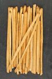 Breadsticks ou Grissini Photographie stock