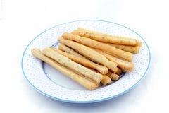 Breadsticks. Fotografering för Bildbyråer