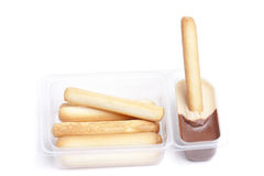 Breadsticks snack Royalty Free Stock Images
