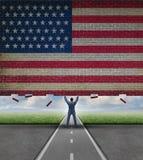 Break Into The American Market Stock Image