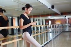 Break at Ballet Practice Stock Image