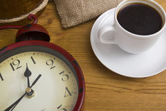 Break with a cup of coffee Royalty Free Stock Photos