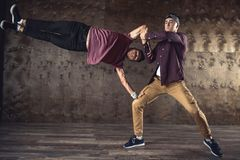 Break Dance stock photography