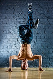 Break dance Royalty Free Stock Photography