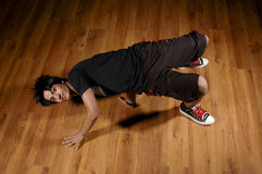Break dance. A kuwaiti Boy dancing (break dance Royalty Free Stock Photos