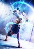 Break dance Royalty Free Stock Image