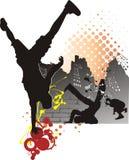 Break dance Stock Images