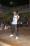 Break-dance del ballerino della via Immagini Stock Libere da Diritti
