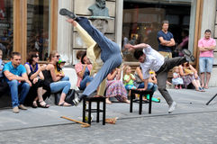 Break dance Royalty Free Stock Photo