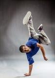 Break Dance on the floor Stock Photography