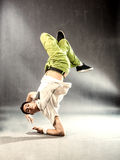 Break Dance on the floor Stock Images
