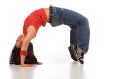 Break dancer #2 Royalty Free Stock Photo