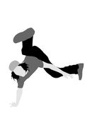 Break dancer Stock Photography