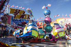 Break Dancer carousel at Oktoberfest in Munich, Germany, 2015 Stock Image