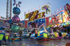 Break Dancer carousel at Oktoberfest in Munich, Germany, 2015 Royalty Free Stock Photography