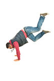 Break dancer man in action Stock Photography