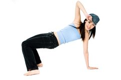 Break Dancing Stock Photo