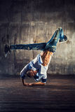 Break dancing Stock Image