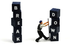Break down Stock Photography