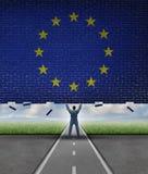 Break Into The European Market Stock Photo