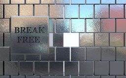 Break free royalty free stock images